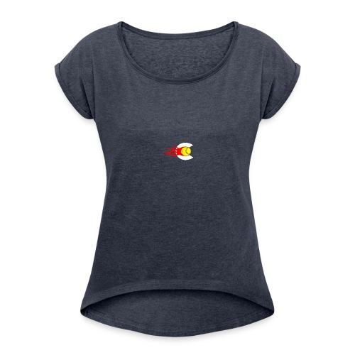 Clogow - Women's Roll Cuff T-Shirt