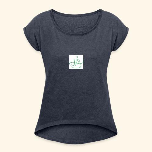 Signed M SH Merch - Women's Roll Cuff T-Shirt