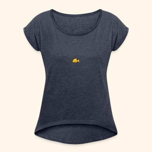 Journey Logo 1 - Women's Roll Cuff T-Shirt
