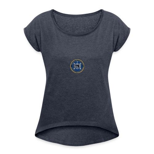 FireArms Licensing Division T-Shirt - Women's Roll Cuff T-Shirt
