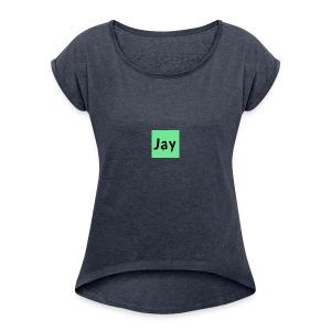 Janimations - Women's Roll Cuff T-Shirt