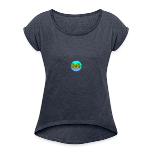 OHA - Women's Roll Cuff T-Shirt