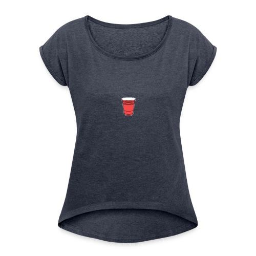 Jackschaefeer original - Women's Roll Cuff T-Shirt