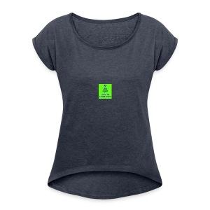 Pickle Army - Women's Roll Cuff T-Shirt