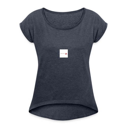 LogoSample - Women's Roll Cuff T-Shirt