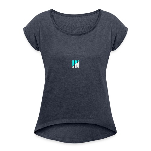 Server Logo - Women's Roll Cuff T-Shirt