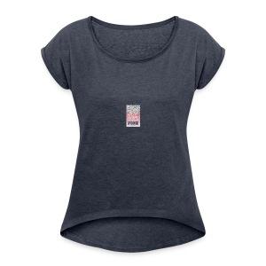 pink - Women's Roll Cuff T-Shirt