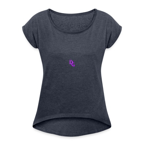 DG - Women's Roll Cuff T-Shirt