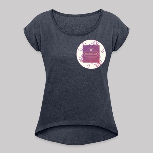 The1TheOnlyK: Creator - Women's Roll Cuff T-Shirt