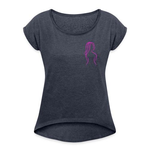 Le sexie logo print - Women's Roll Cuff T-Shirt
