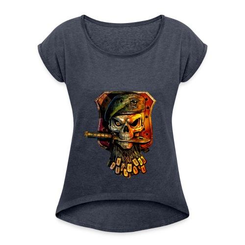 GameOver - Women's Roll Cuff T-Shirt