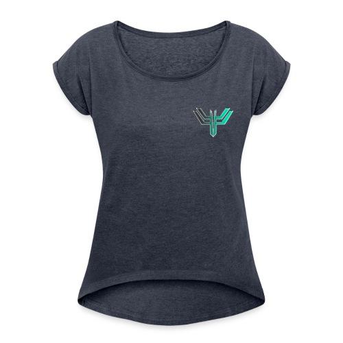 iL Era Tiny Logo - Women's Roll Cuff T-Shirt
