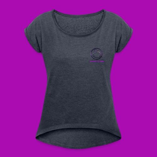 Galaxy Logo - Women's Roll Cuff T-Shirt