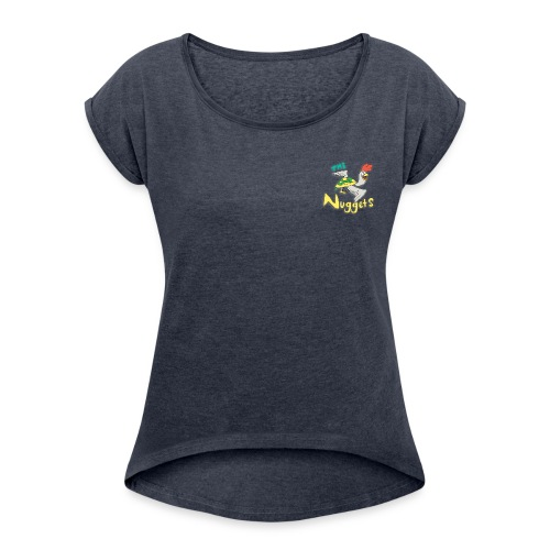 The Nuggets - Women's Roll Cuff T-Shirt