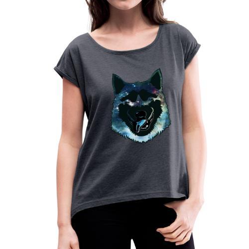 dogi - Women's Roll Cuff T-Shirt
