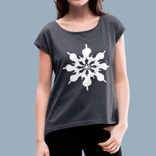 Birdflake - Women's Roll Cuff T-Shirt