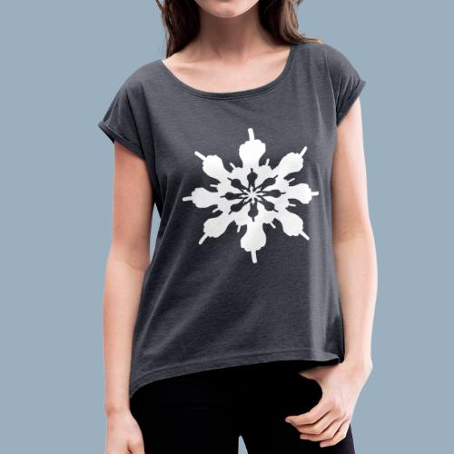 Birdflake - Women's Roll Cuff T-Shirt