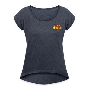 AR Logo - Women's Roll Cuff T-Shirt