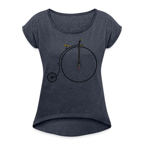 It was a time - Women's Roll Cuff T-Shirt
