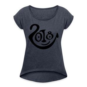 2018 2 - Women's Roll Cuff T-Shirt