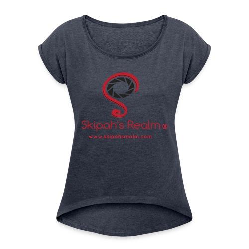 Skipah's Realm - Women's Roll Cuff T-Shirt