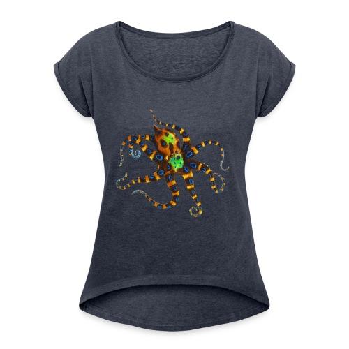 Octopuss - Women's Roll Cuff T-Shirt