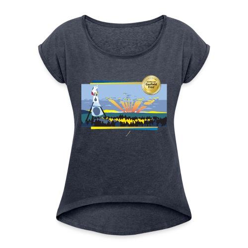 Bentley Blockade - Women's Roll Cuff T-Shirt