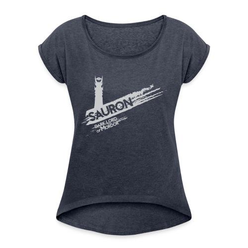 Tower of Sauron - Women's Roll Cuff T-Shirt