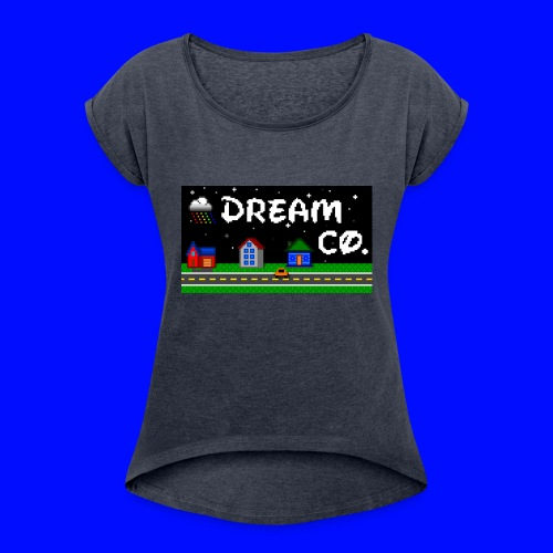 Pixel Art - Women's Roll Cuff T-Shirt