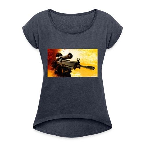 CS-GO-UL LUI ALEX - Women's Roll Cuff T-Shirt