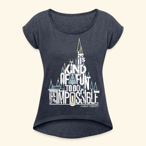 The Impossible - Women's Roll Cuff T-Shirt