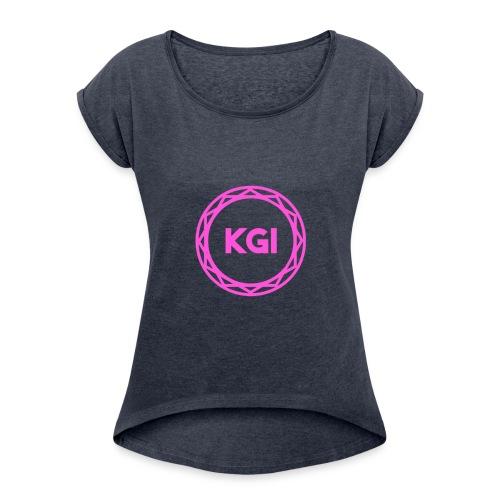 KGI Girls V3 - Women's Roll Cuff T-Shirt