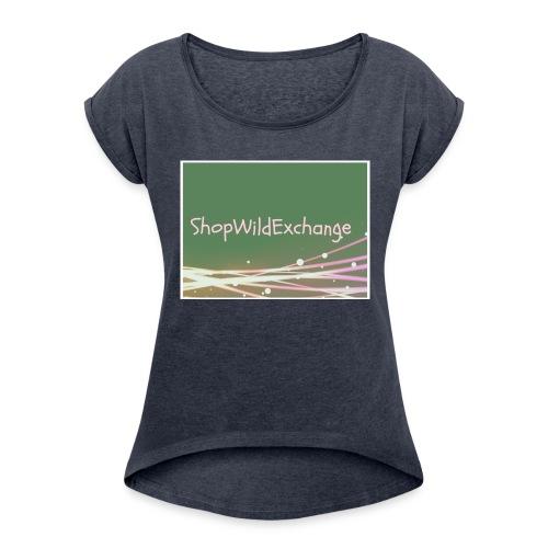 Basic design - Women's Roll Cuff T-Shirt