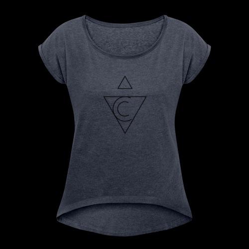 The Tetragenetron - Women's Roll Cuff T-Shirt