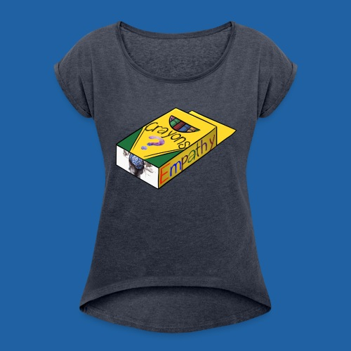 Colors of Empathy - Women's Roll Cuff T-Shirt