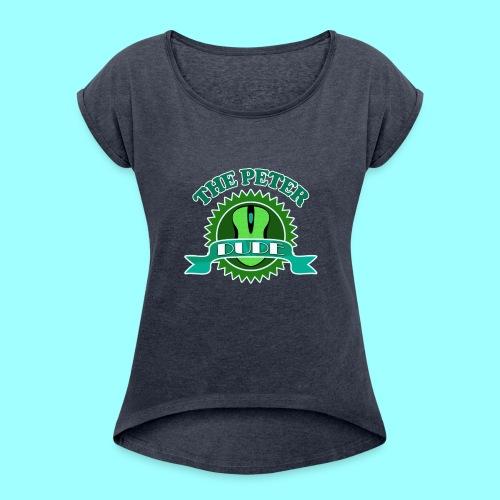 TPD Logo - Women's Roll Cuff T-Shirt