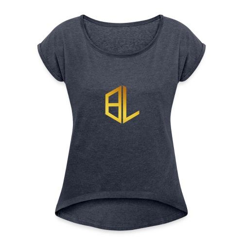 official Gold logo solo - Women's Roll Cuff T-Shirt