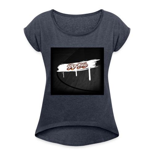 image2-2 - Women's Roll Cuff T-Shirt