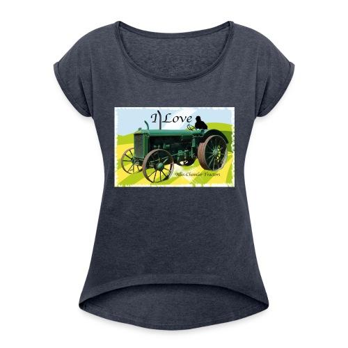 Aliis Chambers - Women's Roll Cuff T-Shirt