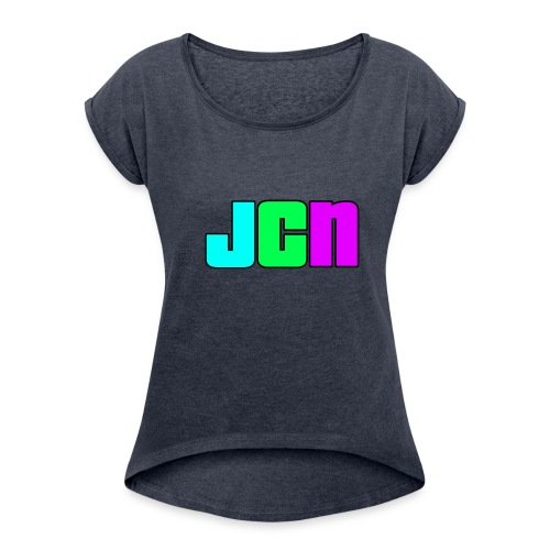JCN Shirt Mens - Women's Roll Cuff T-Shirt
