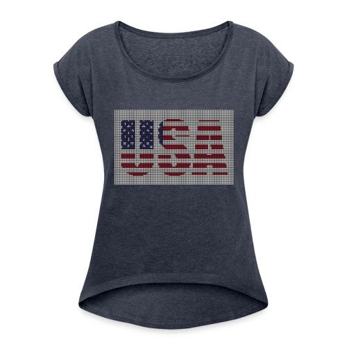USA - Women's Roll Cuff T-Shirt