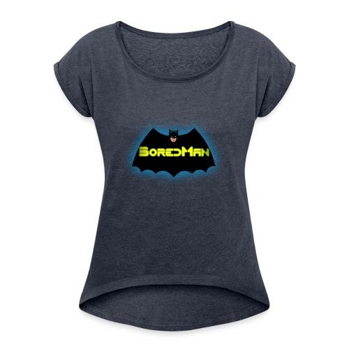 Boredman - Women's Roll Cuff T-Shirt