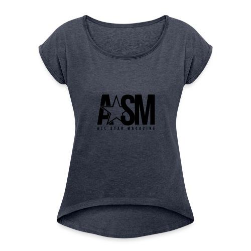 ASM Merch - Women's Roll Cuff T-Shirt