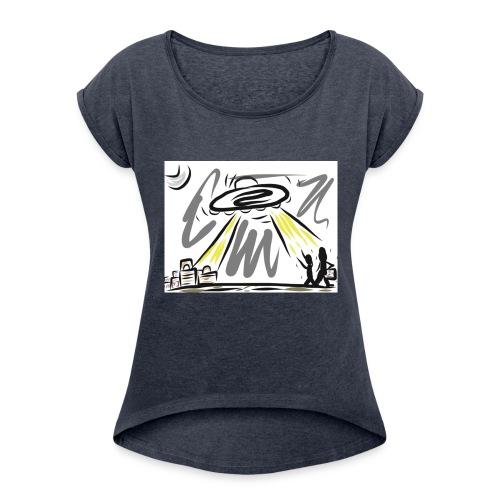 FullSizeRender_-1- - Women's Roll Cuff T-Shirt