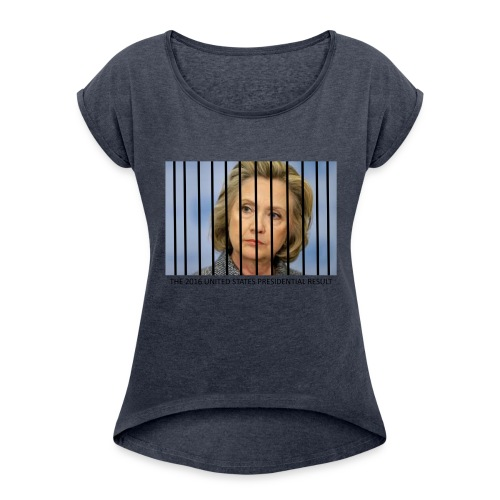 eLECTION_RESULTS - Women's Roll Cuff T-Shirt