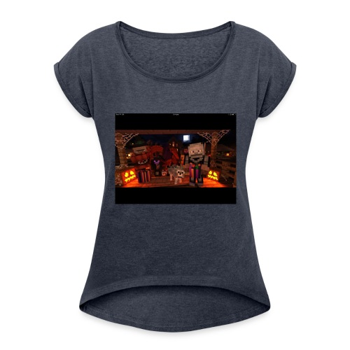 IMG 0392 - Women's Roll Cuff T-Shirt
