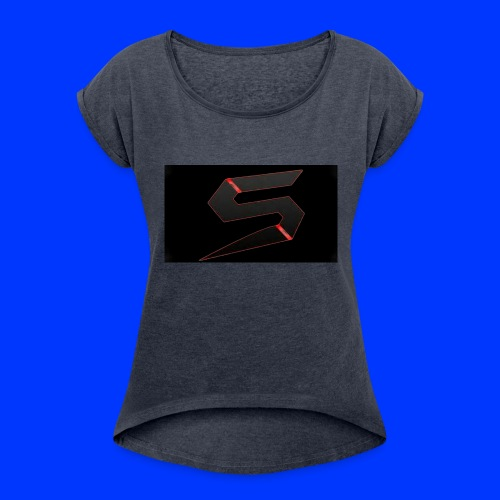 Gaming hoodie - Women's Roll Cuff T-Shirt
