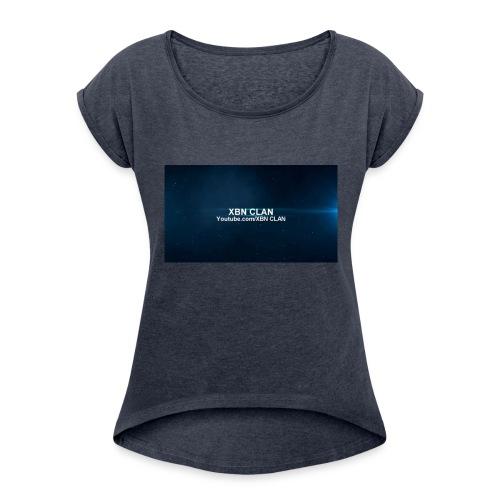 XBN CLAN - Women's Roll Cuff T-Shirt