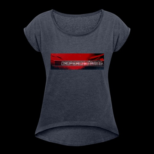 Oroperion Gaming Banner - Women's Roll Cuff T-Shirt
