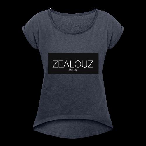 Untitled-3 - Women's Roll Cuff T-Shirt